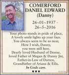 COMERFORD DANIEL EDWARD(Danny)