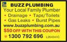 BUZZ PLUMBING