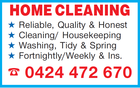Totally Bright Home Cleaning