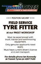 Tyre Fitter - Field Service