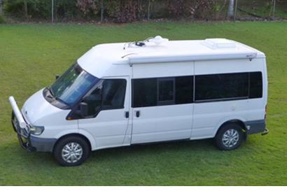 FORD TRANSIT Camper van 2004, auto/man diesel, DB, good storage, good cond, prof' fitout, D...