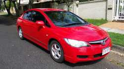 Honda Civic VTi 2008     RWC  Rego to Sept '18  Dual Front Airbag Package ...