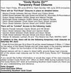 Temporary Road Closures