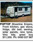 POPTOP Sheerline Empire
