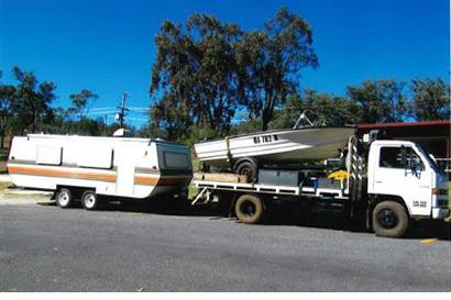 1982 Millard Pop Top Caravan + 1990 Isuzu Truck