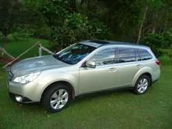 MY10 Subaru Outback Luxury Wagon-4cyl. 2.5 ltr Auto, sunroof, leather interior,  memory seat positio...