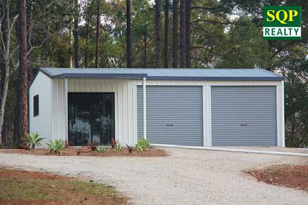 Quiet, forested 1.7 acres pkgd with a new Weekender close shops & great fishing & ideal f...