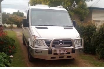 <p> Mercedes Sprinter Campervan </p> <p> MWB, V6 diesel, auto, 232,000 kms, green diesel...</p>