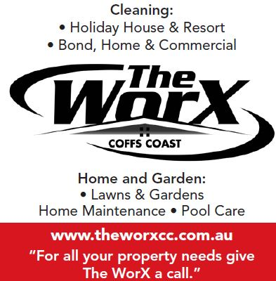 Office - (02) 5619 2764   Email - info@theworxcc.com.au   Cleaning:   • Holiday...