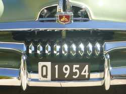 This historic numberplate is ideal for a 1954 classic (car or human)!