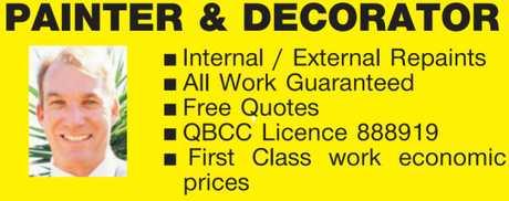 <p> <strong>Internal / External Repaints </strong> </p> <p> <em>All Work Guaranteed...</em></p>