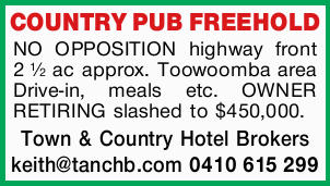 <p> <strong>COUNTRY PUB FREEHOLD </strong> </p> <p>