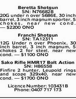 Beretta Shotgun SN: N76682B 20G under n over S686E, 30 inch barrel, 3 inch magnum sporter,...