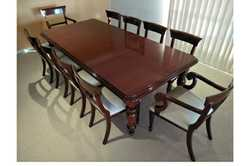 ANTIQUE mahogany dining table 1860,