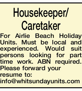 Housekeeper/Caretaker
