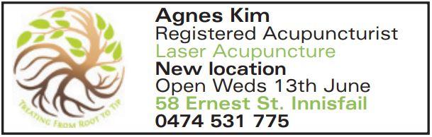 Agnes Kim   Registered Acupuncturist   Laser Acupuncture   New location   Open We...