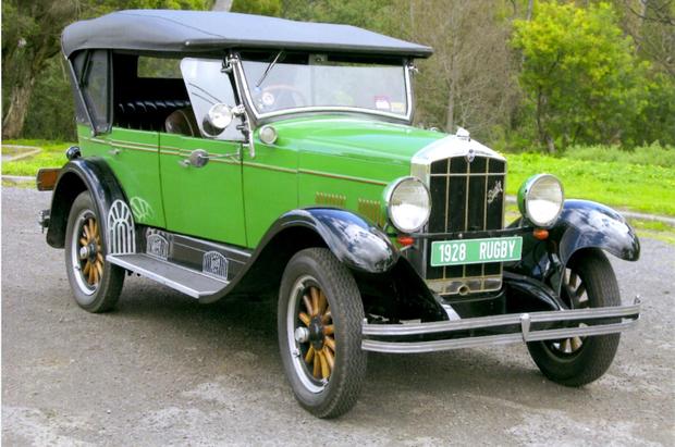 1928 VINTAGE RUGBY TOURER   Fully restored   Trophies winner   Vintage registered 615...