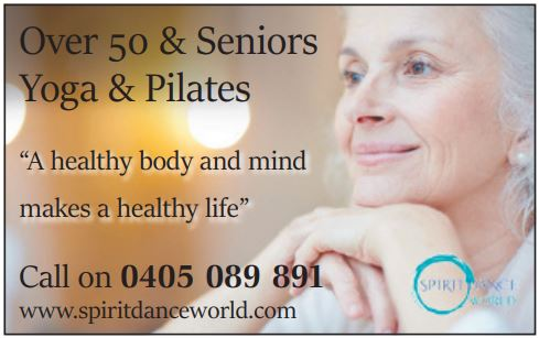 """Over 50 & Seniors Yoga & Pilates   """"A healthy body and mind makes a healthy lif..."""