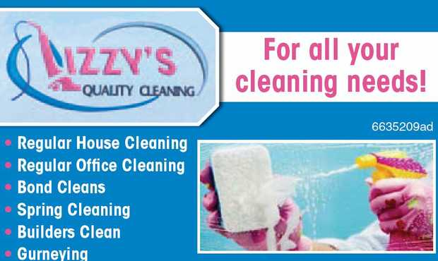 For all your cleaning needs!