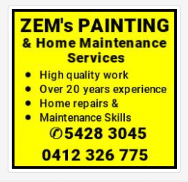 ZEM's PAINTING & Home Maintenance Services High quality work Over 20 years experience Hom...
