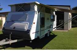 2002 Coromal poptop, twin beds, 4 burner gas stove, m/wave, 3 way fridge, r/out awning & full...