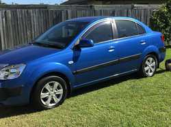 KIA RIO 2009 Sedan, auto, 1 owner, excell cond, all services, low kms, new tyres, unreg, $7000. P...