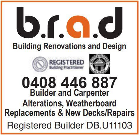 Registered Building Practioner & Master Builders Member    Alterations  Weatherbo...