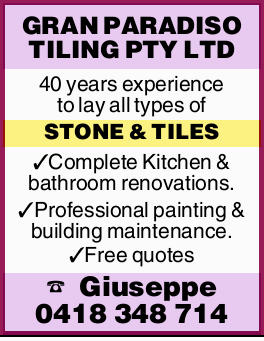 40 years experience to lay all types of STONE&TILES    Complete Kitchen & b...
