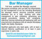 Bar Manager