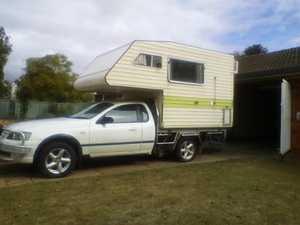 """<p align=""""LEFT"""" dir=""""LTR""""> <span lang=""""EN-AU"""">Ford Slide on camper, Auto 2003, runs well for...</span></p>"""