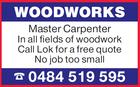 WOODWORKS MASTER CARPENTER