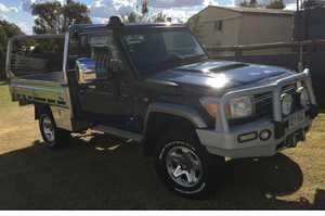 <ul> <li> LANDCRUISER GXL 2010, cab/chasis, welded custom alloy tray, under body tool boxes, rear...</li></ul>