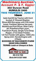 Machinery Auction
