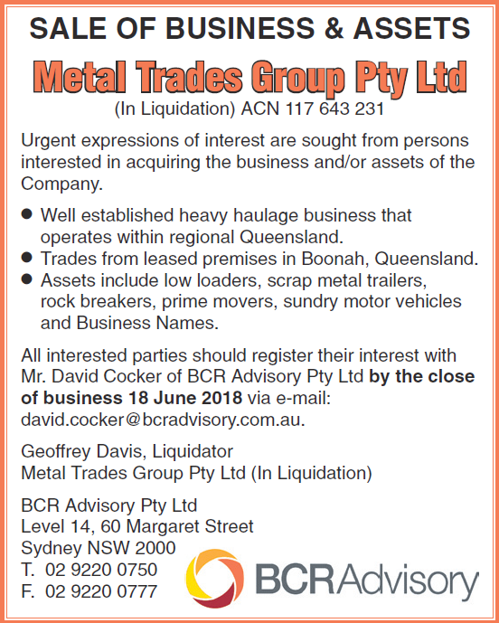 Metal Trades Group Pty Ltd