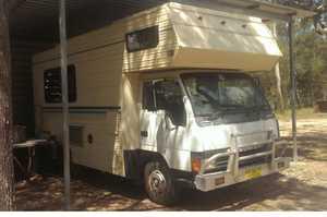 <p> MITSUBISHI CANTER WINNEBAGO </p> <p> Ideal for Temporary Housing or travel around...</p>