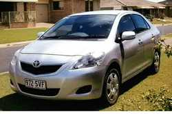 2012 Toyoto Yaris, silver, auto, rego till Jan 2019, only done 5000kms, tow bar, headlight protec...