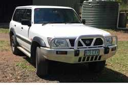 NISSAN Patrol 4WD, 1999-2000, 4500cc, well maintained, reg 09/18, RWC, 7 seater, 244kms, no beach...