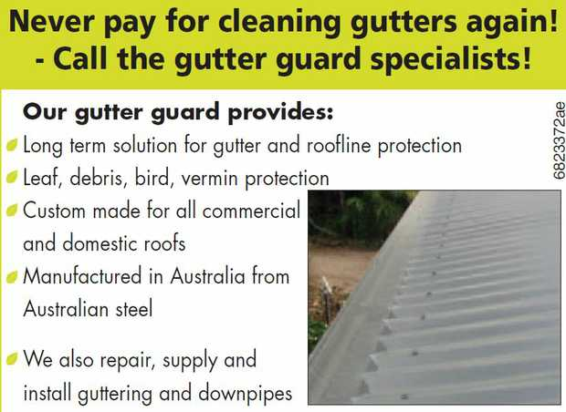 We use the original The Leaf Man Gutter Guard.   An Australian innovation.   Whether you&...