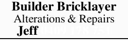 Builder Bricklayer