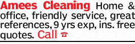 Amees Cleaning   Home & office,   friendly service,   great references,   9 y...