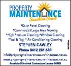 PROPERT MAINTENANCE SUNSHINE COAST