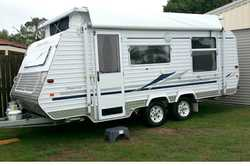 2006 IMPERIAL Pop top, Diamond edition, full annex, 2 twin fridges, dble bed, HWS, solar, 2 batts...
