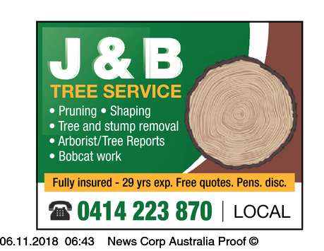 Prunning, Shapping,   Tree & Stump Removal   Bobcat Removal   Tree Reports/Arbori...