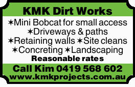 Mini Bobcat for Small Access    Driveways & paths  Retaining walls  Site cle...