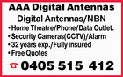 AAA DIGITAL ANTENNAS
