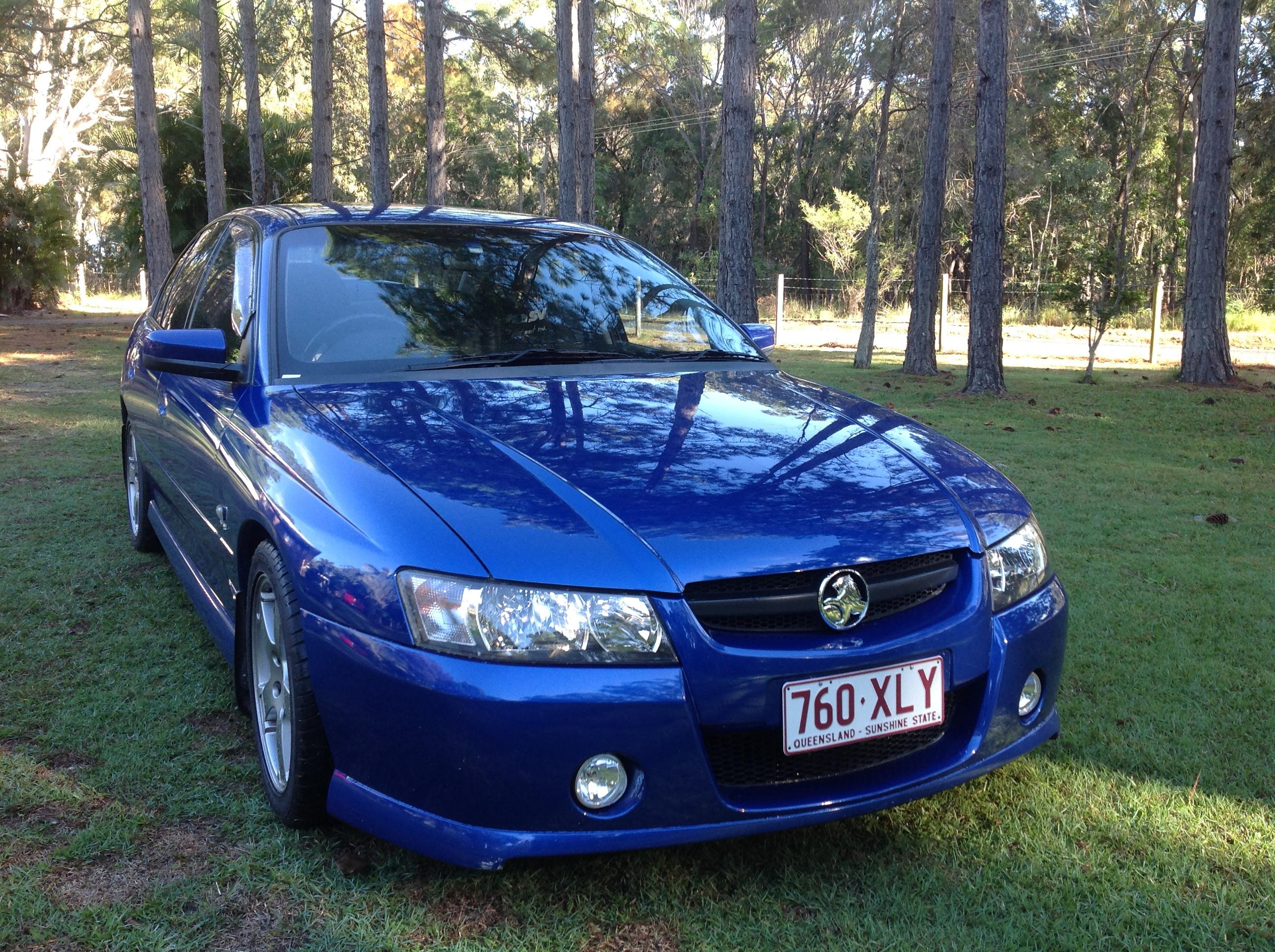 Commodore 05 VZ SV8 LS1