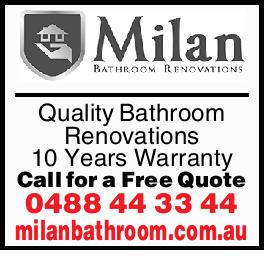 Quality Bathroom Renovations 10YearsWarranty Call for a Free Quote milanbathroom.com.au