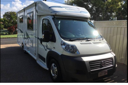 2013 Sunliner Gem3 Diesel auto, 2 slide outs, rear full bath, 2 x 12v TVs, Dometic awn, electric...