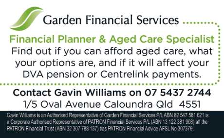 <p> Financial Planner & Aged Care Specialist </p> <p> Find out if you can afoird aged care...</p>