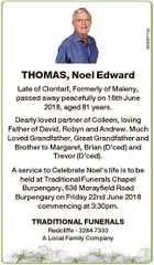 THOMAS, Noel Edward